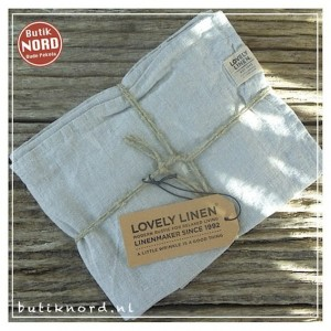 Kardelen Lovely Linen, set handdoeken Misty Meadow.