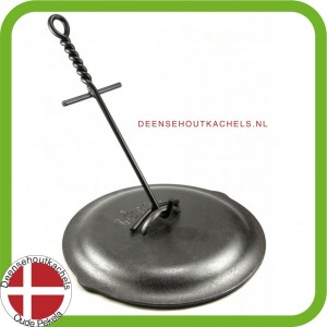 Lodge stalen deksel lifter.