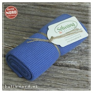 Solwang handdoek, dusty blue. H21